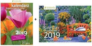 Pakiet kalendarz książkowy + ścienny 2019