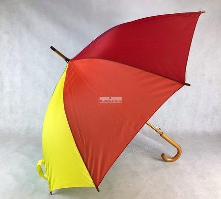 """Automatyczny parasol wielokolorowy z nadrukiem """"działkowiec Twoje pismo"""""""