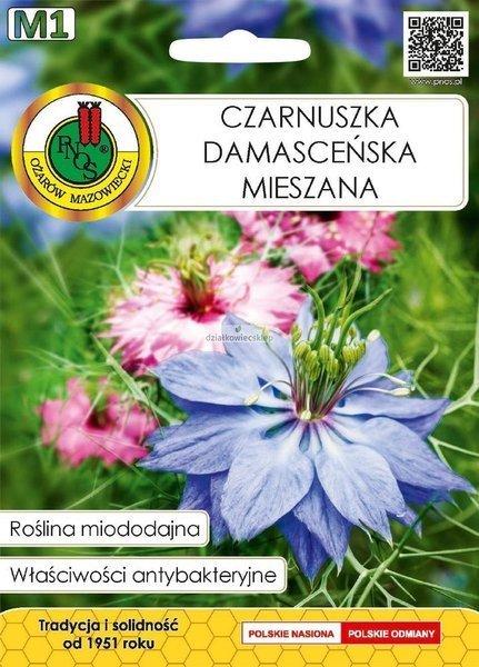 Czarnuszka Damasceńska mieszanka (1 g) - Roślina Miododajna