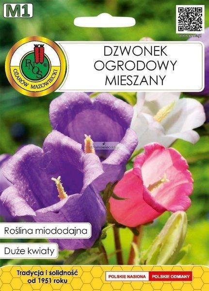 Dzwonek Ogrodowy mieszany (1 g) - Roślina Miododajna
