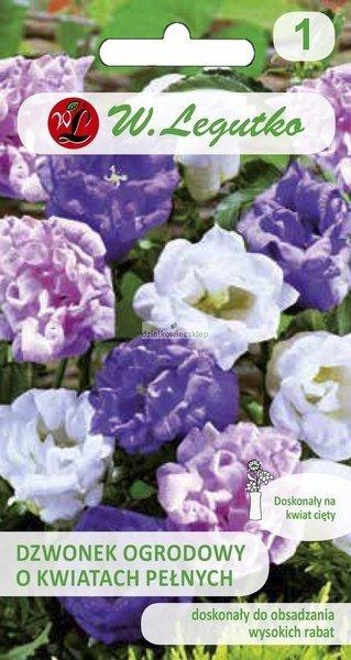 Dzwonek ogrodowy - mieszanka o kwiatach pełnych (0,1 g)