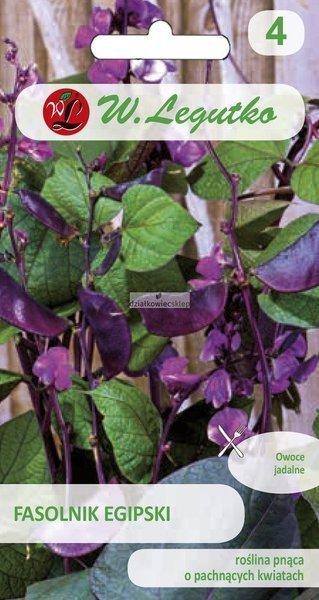 Fasolnik Egipski - różowofioletowy (3 g)