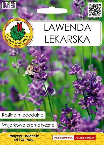 Lawenda Lekarska (0,2 g) - Roślina Miododajna