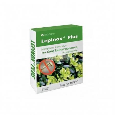 Lepinox Plus na ćmę bukszpanową i inne gąsienice 3x10g