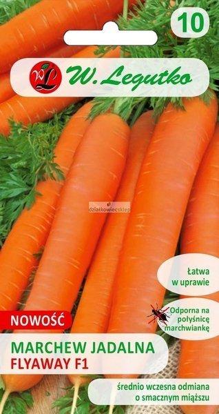 Marchew jadalna Flyaway - śr. wczesna (0,5 g)