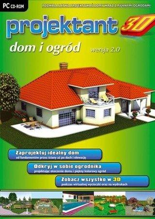 PROJEKTANT 3D: DOM I OGRÓD wer. 2.0