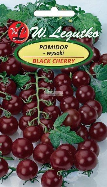 Pomidor gruntowy wysoki - Black Cherry (0,2 g)