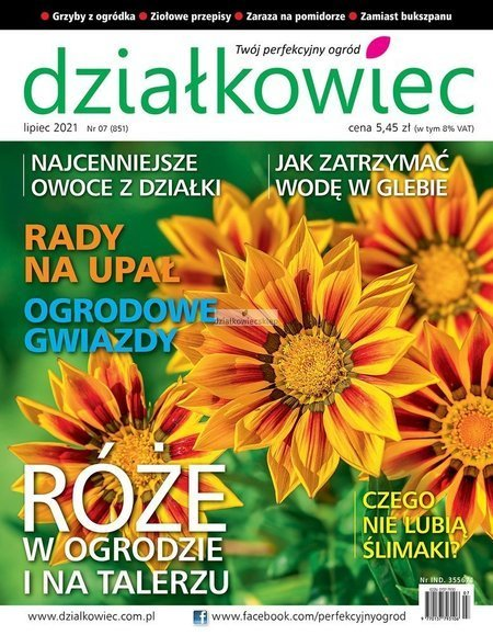 Roczna prenumerata działkowiec