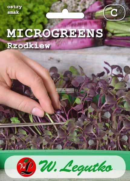 Rzodkiew (3 g) - Microgreens