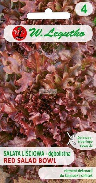 Sałata liściowa  dębolistna Red Salad Bowl (1 g)