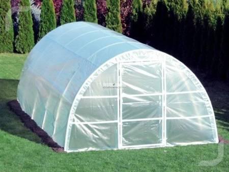 Tunel foliowy *A3* 3,6 x 3,0 x 1,9 m z folią 4-UV z wgrzanymi sznurkami