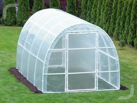 Tunel foliowy *B3* 3,0 x 2,2 x 1,9 m z folią 4-UV z wgrzanymi sznurkami