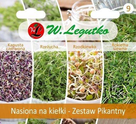 Zestaw pikantny - nasiona na kiełki