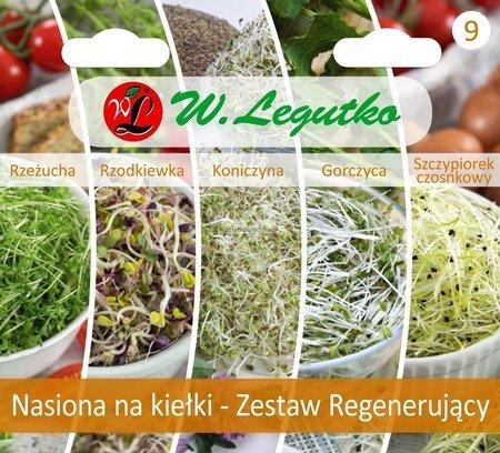 Zestaw regenerujący - nasiona na kiełki
